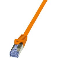 LogiLink netwerkkabel: Cat6a S/FTP, 3m - Oranje