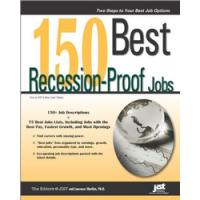 JIST Publishing algemene utilitie: 150 Best Recession-Proof Jobs - eBook (EPUB)