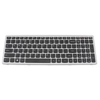 Lenovo Keyboard for IdeaPad Z500 Notebook reserve-onderdeel - Zwart, Zilver