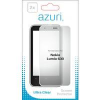 Azuri screen protector: Duo screen protector voor Nokia Lumia 630 + Lumia 635