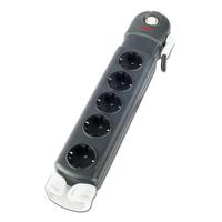 APC Essential SurgeArrest 5 (1 PLC Compatible) outlets 230V Germany Surge protector - Zwart