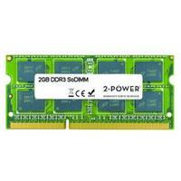 2-Power RAM-geheugen: 2GB DDR3 SoDIMM - Groen