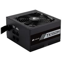 Corsair power supply unit: TX550M - Zwart