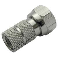 Schwaiger coaxconnector: FST6510 610 - Zilver
