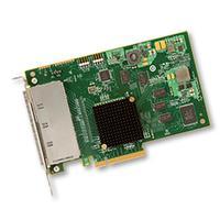 Broadcom interfaceadapter: SAS 9201-16e - Groen, Grijs