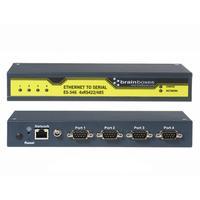 Brainboxes seriele server: Ethernet naar seriele RS422/485 adapter. Aantal poorten: 4 x RS-422/485. Eenh. 1 stk