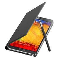 Samsung mobile phone case: Flip voor Galaxy Note 3, Zwart