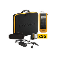 DYMO labelprinter: XTL 300 Kit - Zwart, Geel, QWERTY