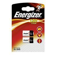Energizer batterij: 2 x CR2, 3V, Lithium - Zwart, Zilver