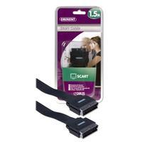 Eminent : Scart Cable 1.5m - Zwart