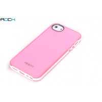 ROCK mobile phone case: Joyful Free Cover Apple iPhone 5/5S Pink - Roze