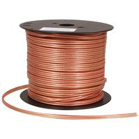 Sytronic product: Luidsprekerkabel 2 x 2,50 mm² op rol 100 m transparant