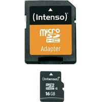 Intenso flashgeheugen: 16GB Micro SDHC Class 4