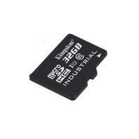Kingston Technology Industrial Temperature microSD UHS-I 32GB Flashgeheugen - Zwart