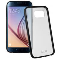 Azuri mobile phone case: Bumper cover voor Samsung Galaxy S6 (zwart)