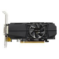 Gigabyte GeForce GTX 1050 Ti OC Low Profile 4G Videokaart - Zwart