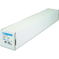 HP plotterpapier: Papier met coating-914 mm x 45.7 m, 90 g/m², Mat, Houtvezel