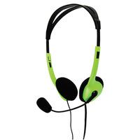 BasicXL Draagbare stereo groen Headset