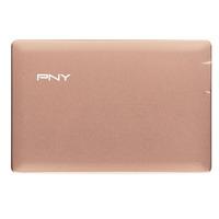 PNY powerbank: PowerPack ALU 2500 - Roze goud