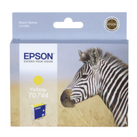 Epson inktcartridge: inktpatroon Yellow T0744 - Geel