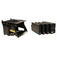 DTM Print 53467-PT Inktcartridge - Zwart, Cyaan, Magenta, Geel