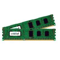 Crucial RAM-geheugen: 4GB kit, 240-pin DIMM, DDR3 PC3-12800