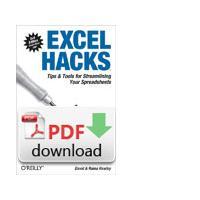 O'Reilly algemene utilitie: Excel Hacks - PDF formaat