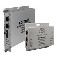 ComNet 2 Ch 10/100 Mbps Ethernet 1310/1550nm, 60 W PoE++, B Side Media converter