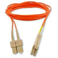 Hewlett Packard Enterprise fiber optic kabel: 2m LC/SC