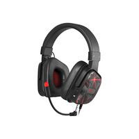 Natec Genesis Argon 570 headset - Zwart, Rood