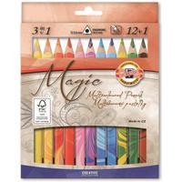 Koh-I-Noor potlood: Magic - Multi kleuren