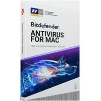Bitdefender Antivirus for Mac 3-Mac 1 jaar Product