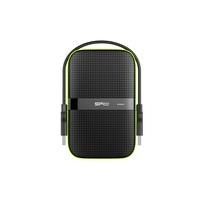 Silicon Power Armor A60 Externe harde schijf - Zwart, Groen