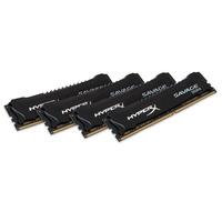 HyperX RAM-geheugen: Savage Memory Black 32GB DDR4 2400MHz Kit - Zwart