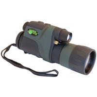 LUNA OPTICS 50mm Ovjective, 5x Magnification, 9° FOV, 58x76x185mm, 375g, Black/Green - Zwart, Groen