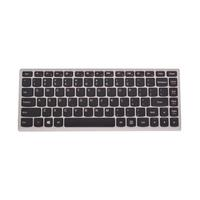 Lenovo notebook reserve-onderdeel: Keyboard for Ideapad U310, black/silver - Zwart, Zilver