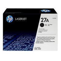 HP toner: 27X originele high-capacity zwarte LaserJet tonercartridge