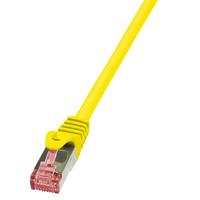 LogiLink netwerkkabel: 0.25m Cat.6 S/FTP - Geel