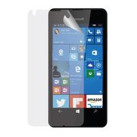 Azuri screen protector: Duo screen protector voor Microsoft Lumia 550 - Transparant