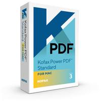 Kofax Power PDF Standard 3.0 for MAC Software licentie