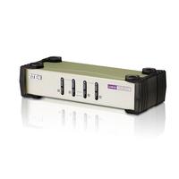 Aten KVM switch: 4 Port PS2/USB KVM/Console/PC PS2/USB - Grijs