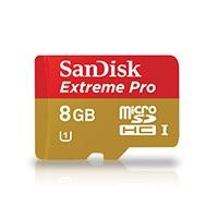 SanDisk MICROSDHC EXTREME PRO 8GB 95MB/S CL10