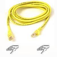 Belkin A3L791B15M - UTP Patch kabel - Cat.5e / 15 meter / Geel