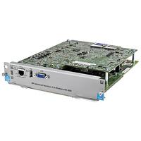 Hewlett Packard Enterprise netwerk switch module: Advanced Services v2 zl Module with SSD