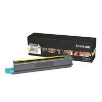Lexmark cartridge: C925 7,5K gele tonercartridge - Geel