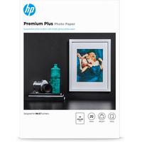 HP fotopapier: Premium Plus glanzend fotopapier, 20 vel, A4/210 x 297 mm