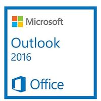 Microsoft software licentie: Outlook 2016, SNGL, OLP C