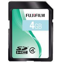 Fujifilm flashgeheugen: 4GB SDHC Class 4