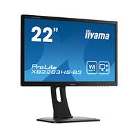 "Iiyama monitor: ProLite XB2283HS-B3 22"" Full HD VA - Business - Zwart"