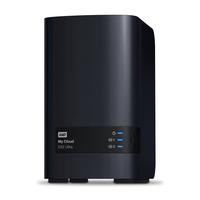 Western Digital My Cloud EX2 Ultra 3.5 Inch 2 bay My Cloud EX2 Ultra, 4TB, Zwart NAS